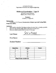 ECE 342 Spring 2012 Midterm 1 Solutions