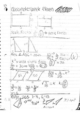 math Classnote: Scale Factors Math Problems