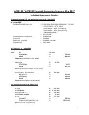 ACC-ACF2100 Assignment Solution
