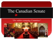 TheCANADIANSENATE Project