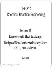 Lecture 16 - Reactors with Heat Exchange, Non-Isothermal Steady-state reactors (1).pdf