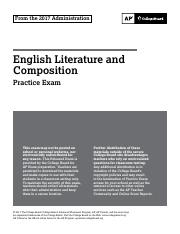 AP English Literature And Composition Practice Exam 2017.pdf