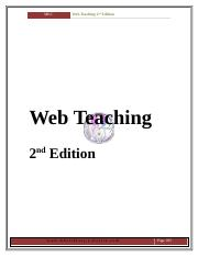 Web Teaching 2nd edition @ www.mkclibrary.yolasite.com.doc