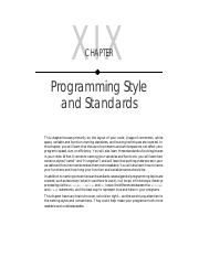 19 - Programming Style and Standards.pdf