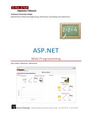 ASP.NET and Web Programming.pdf