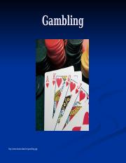 Gambling and CBT.ppt