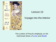 Lecture 13--voyage into the interior