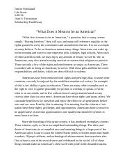 What it Means to be an American.docx