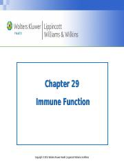 PPT_Chapter_29_Immune Function_Stud copy 2.ppt