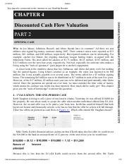 FINA6213_DCF Valuation