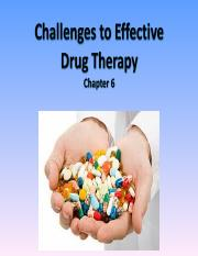 1301_Challenges_to_Effective_Drug_Therapy_Ch6 (1).ppt
