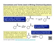 NOTES-Conventions_and_Terms_in_Writing_Chemical_Equations
