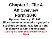 C11-Chp-01-Form 1040-Sound-PP-2010-File-4-Ded