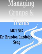567 Su13 Lecture 5 Groups