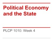 PLCP+1010+9-20-+Political+Economy+and+The+State