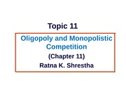 Topic_11_Oligopoly