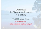 10Lecture-Sivin