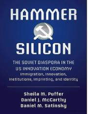 Hammer and Silicon The Soviet Diaspora in the US Innovation Economy.pdf