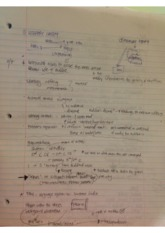 Lecture 2/7Notes