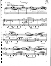 Voiles - Debussy (Score)