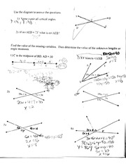 Homework On Finding Variables & Dimensions Of Solids