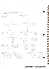 Indirect Variation, Functions, Compound Interest Worksheets