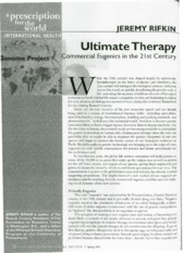 Rifkin - Ultimate therapy