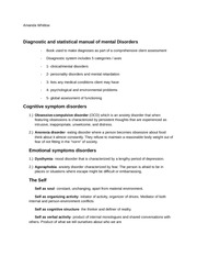 cognitive emotional theory notes