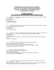 Tutorial Sheet 1b - Introduction to Econometrics  Statistical Concepts.docx