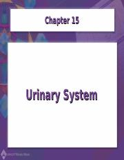 Chapter15-Urinary