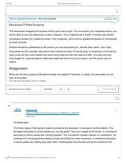 Plate Tectonics Gizmo - ExploreLearning.pdf - ASSESSMENT ...