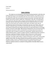 Chapter 1-2-3 Reflections Child Development.docx