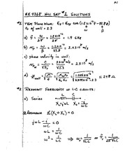 EE4368 HW Set #2 solutions