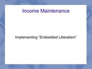 Income Maintenence 1 TEST 4