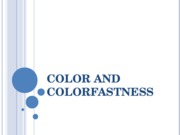 Colorfastness