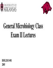 General Microbiology Exam II lectures (1).pptx