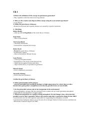 study guide bio2300 Ch1 part 1 and part 2 (1).docx