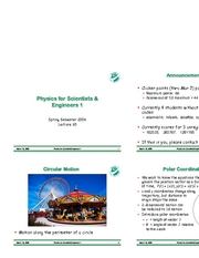 PHY183-Lecture30