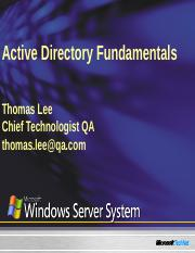 Active_Directory_Fundamentals_Administration