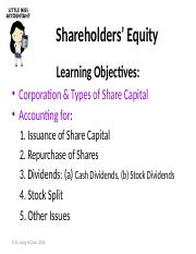 Ch12 – Shareholders' Equity.pptx