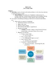 Mktg 350 Exam 1 Study Guide.doc