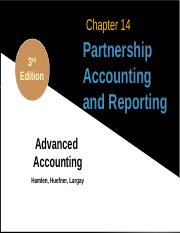1 Chapter14 Hamlen - Partnership Accounting and Reporting (1)