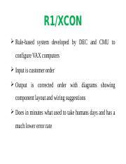case study r1 xcon