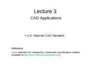 Lecture 3 - CAD Application