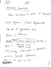 Rotational Notes