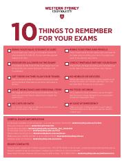 10 Things to remember for your exams.pdf