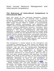 Asian Human Resource Management_Relevance of IC.docx