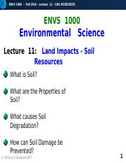 F2016-Lecture 11-Soil Resources-posted