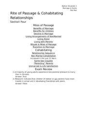 Rite of Passage & Cohabitating Relationships.docx