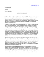 english out of class essay 1
